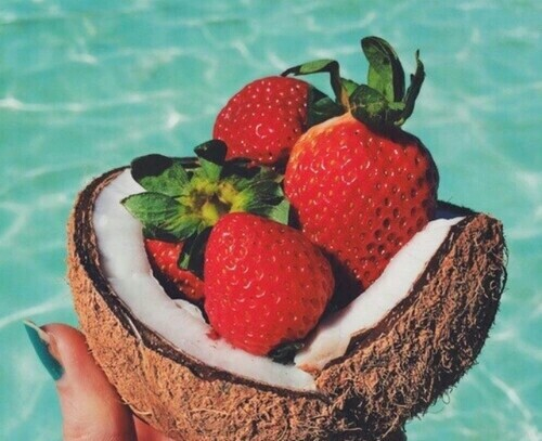 Positive Vibes Quotes Wallpaper Beach Coconut Favorite Fit Fruits Good Vibes Healthy