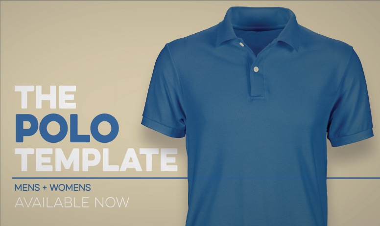 Photoshop Polo Shirt Pro Template