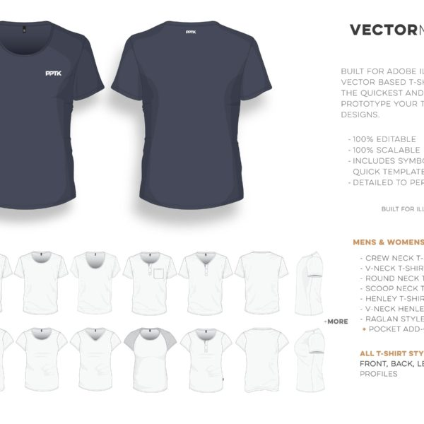 T-Shirt Studio Pro (Everything required to start a clothing brand) - pocket t shirt template