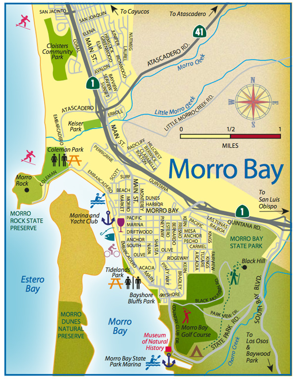 Morro Bay Travel Guide - San Luis Obispo County Visitors Guide