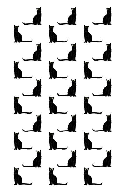 Cute Halloween Cat Wallpaper Black Cat Pattern Image 839787 By Kristy 22 On Favim Com