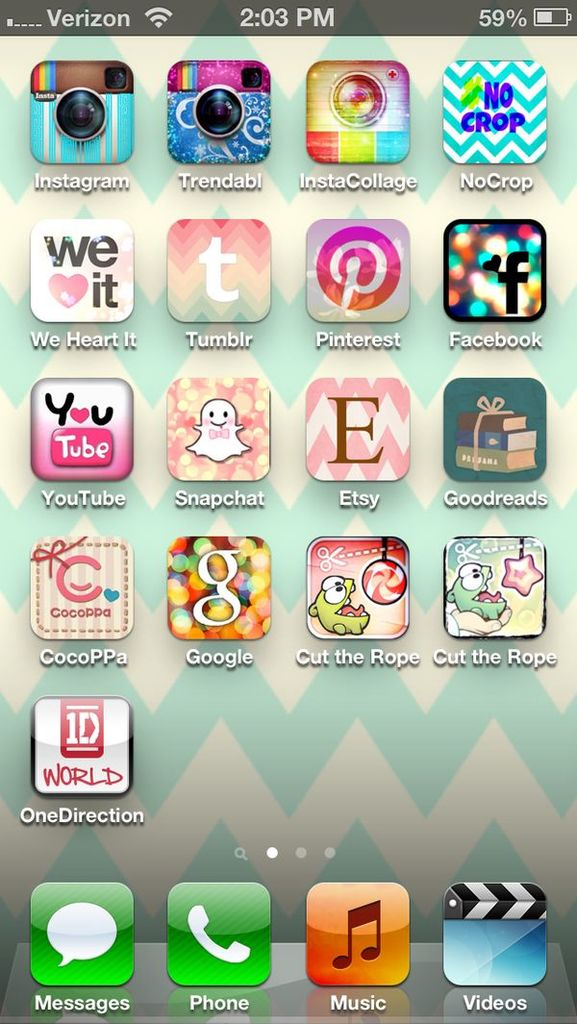 Cute Wallpapers Cocoppa Home Screen With Cocoppa App Image 858229 By Korshun