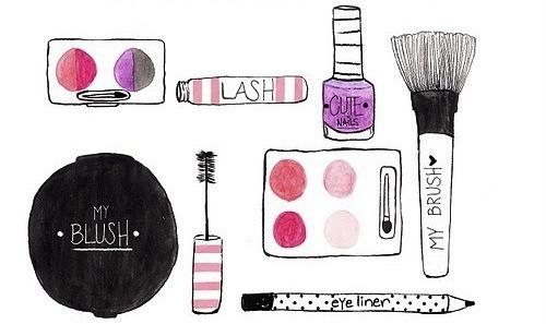 doodles-drawings-fashion-makeup-Favim-943238jpg (500×297 - makeup artist resume template