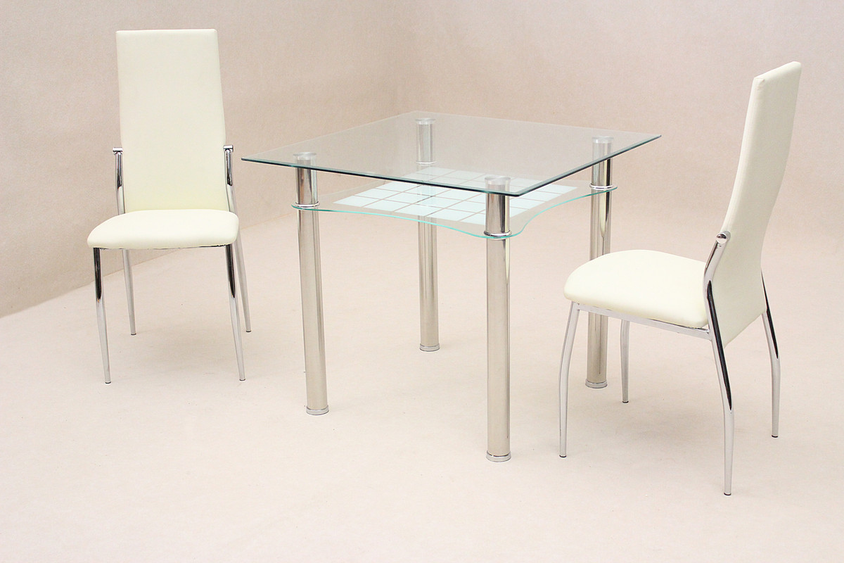 Dining Table With Shelf Underneath Dining Kitchen Table Small Clear Glass Square Top Under