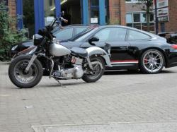 Becks Harley-Davidson & Buell Forum - Geklebt statt lackiert