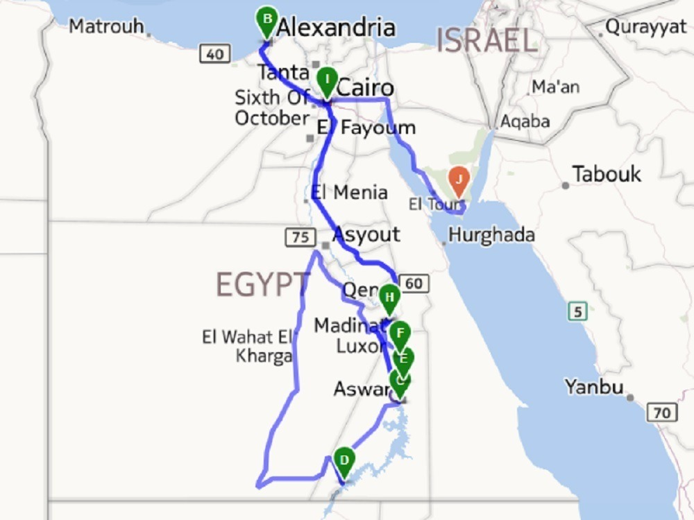 Egypt Itinerary - Travel Addicts