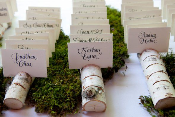 Rustic Wedding Seating Chart Ideas - Rustic Wedding Chic