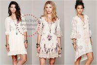 Boho Style Bridesmaid Dresses - Rustic Wedding Chic