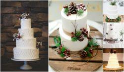 Small Of Rustic Wedding Cake
