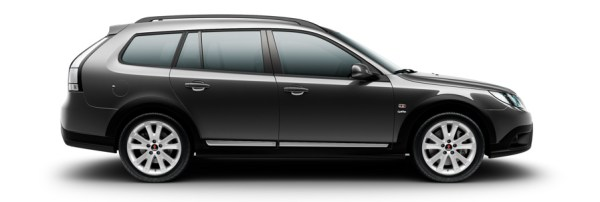 Saab 9-3x-Griffin Carbongrau Metallic