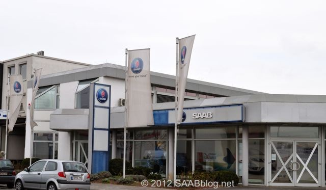 Saab Zentrum Frankfurt