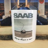 Saab mug 2015 - Saab Tassen für die Leser