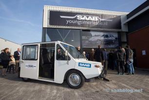 Phoenix in Holland: the first SAAB EV