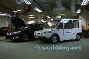 """Ur-EV-SAAB"" returns to Trollhättan as newest generation approaches production phase"