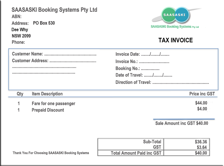 Simple Tax Invoice Example | Quotation On Legal Educationsimple