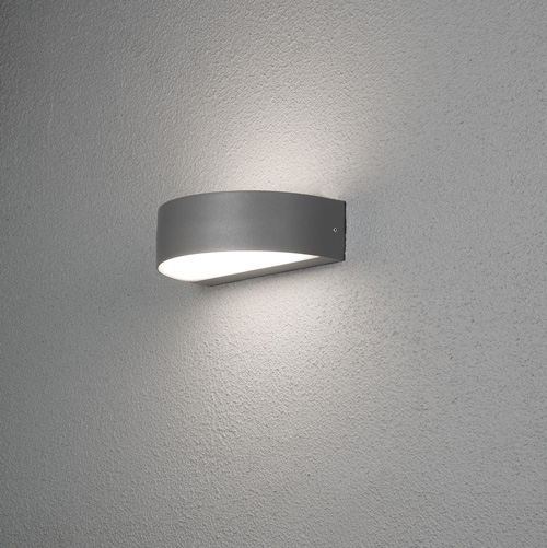Hausnummer Beleuchtet Led Hausnummer Beleuchtet Led Up & Down Light Anthrazit Ip54