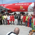 Sabah Toursim welcomes the first arrivals on AirAsia's Airbus A320