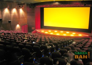 Growball Cinemas's new Cinema 8