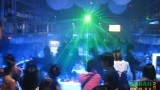 Laser lighting at Ice Bar 1Borneo