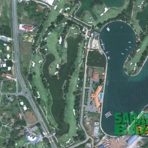 Kudat Golf & Marina Club in Sabah, Borneo