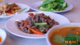 Krapow Gai - chilli friend beef mince, a favourite from Thailand