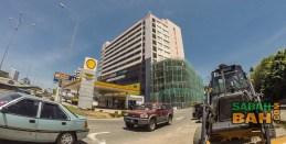 Exterior of Karamunsing Shopping Centre, Kota Kinabalu, Sabah