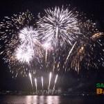 Sabah International Fireworks Competition in Kota Kinabalu, Borneo