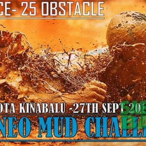 Borneo Mud Challenge, Kota Kinabalu, Sabah