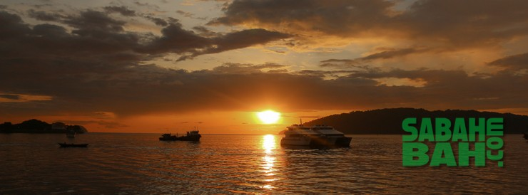 Sunsets will always be free and in Kota Kinabalu they are exceptionally spectacular.