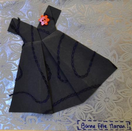 sabali blog - carte voeux origami