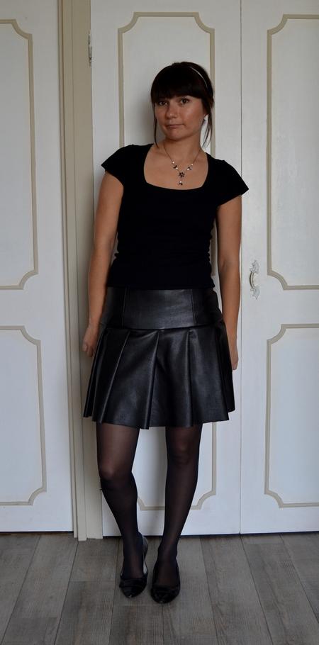 sabali blog couture - jupe simili cuir - 06
