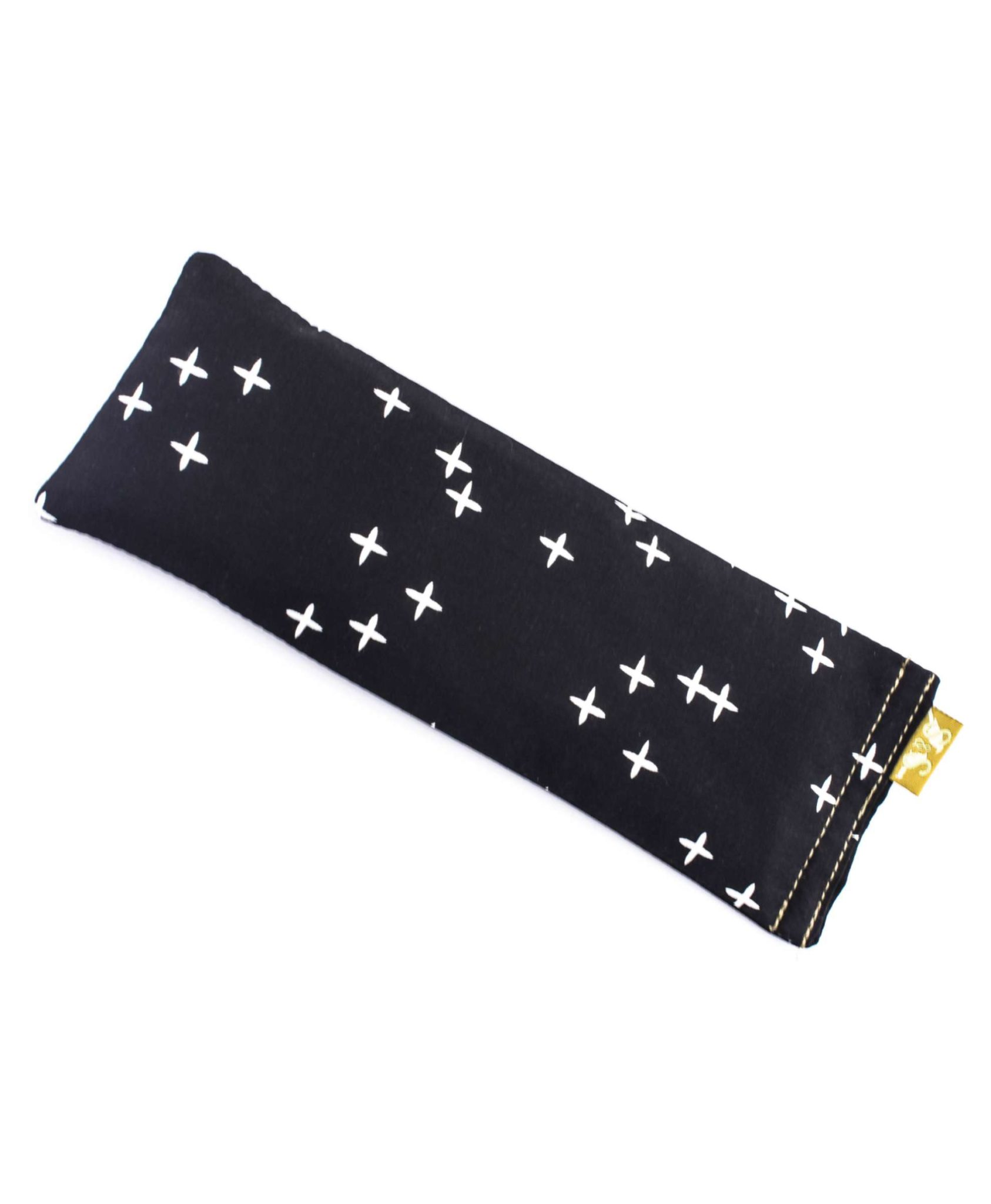 Eye Pillow Australia Crosses On Black Eye Pillow Yoga Designer Melbourne Australia