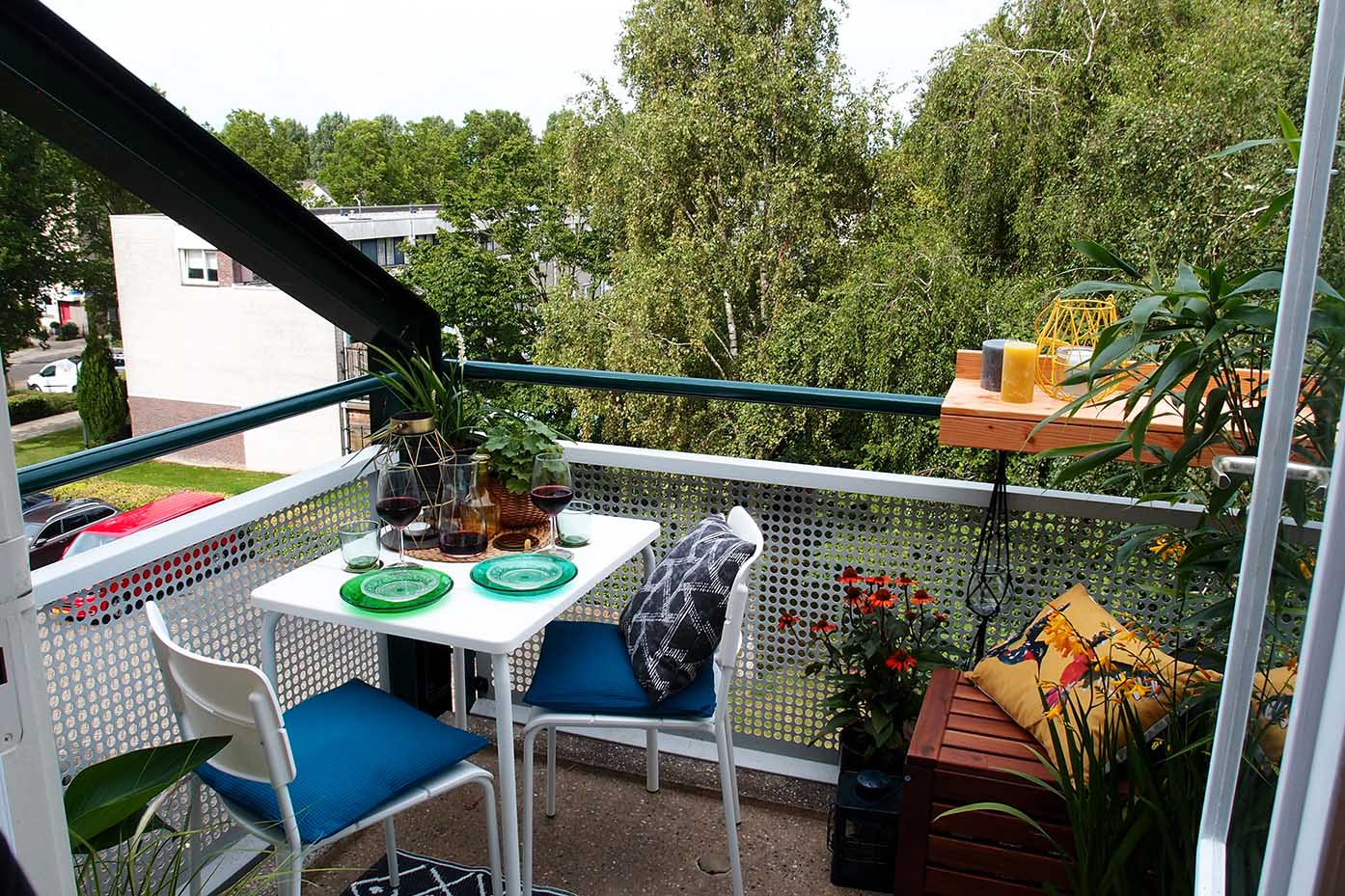 Balkon Inrichting Urban Jungle Balkon Sabine Van Andel