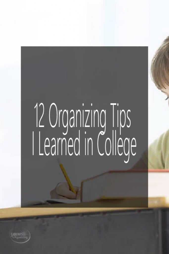 College Success Archives Sabrina\u0027s Organizing - college success tips