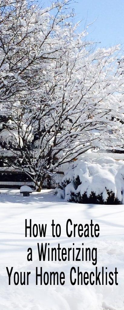 How to Create a Winterizing Your Home Checklist Sabrina\u0027s Organizing