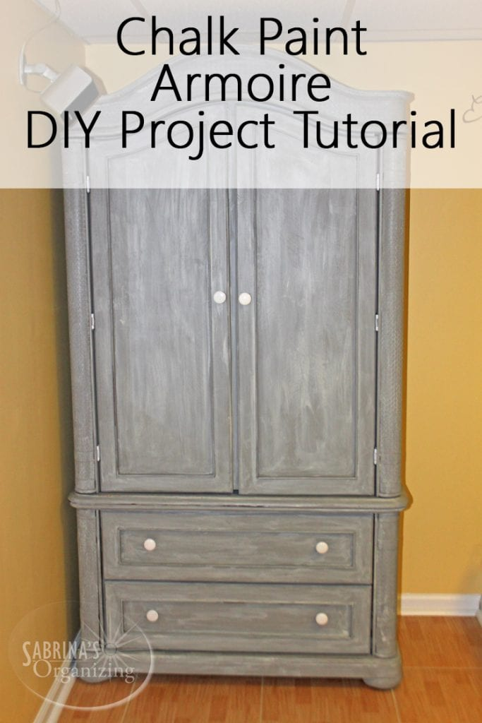 Sofa Quotes Chalk Paint Armoire Diy Project Tutorial | Sabrina's