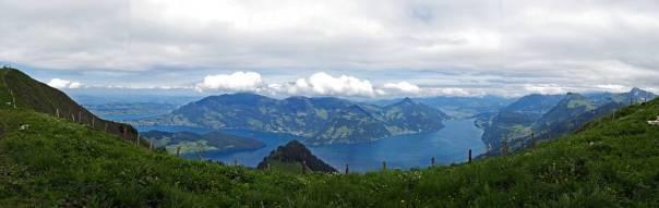 Panorama vom Bleikigrat