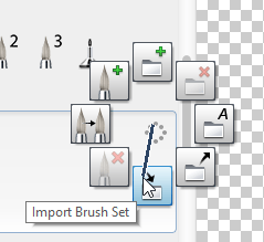 Import brush set