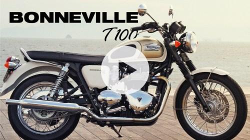 TRIUMPH BONNEVILLE T100 -MOTORCYCLE MOVIE-