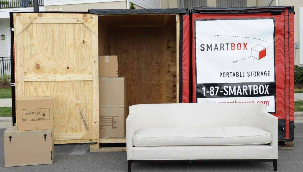 Hotel Caminetto Smartbox Portable Storage Containers In Sacramento Moving Container Company