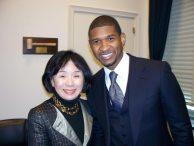 Congresswoman Matsui with Usher 2.jpg