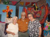 Graciela Ramirez, Rafael Jesús González, and JoAnn Anglin
