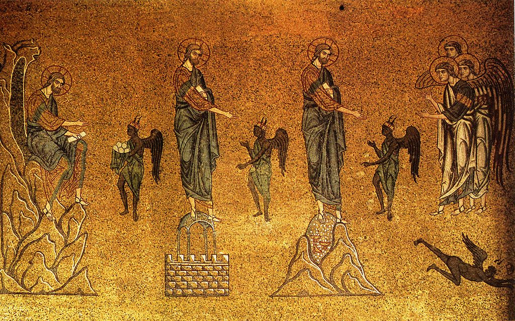 The Temptations of Christ Basilica San Marco | Sacraparental.com