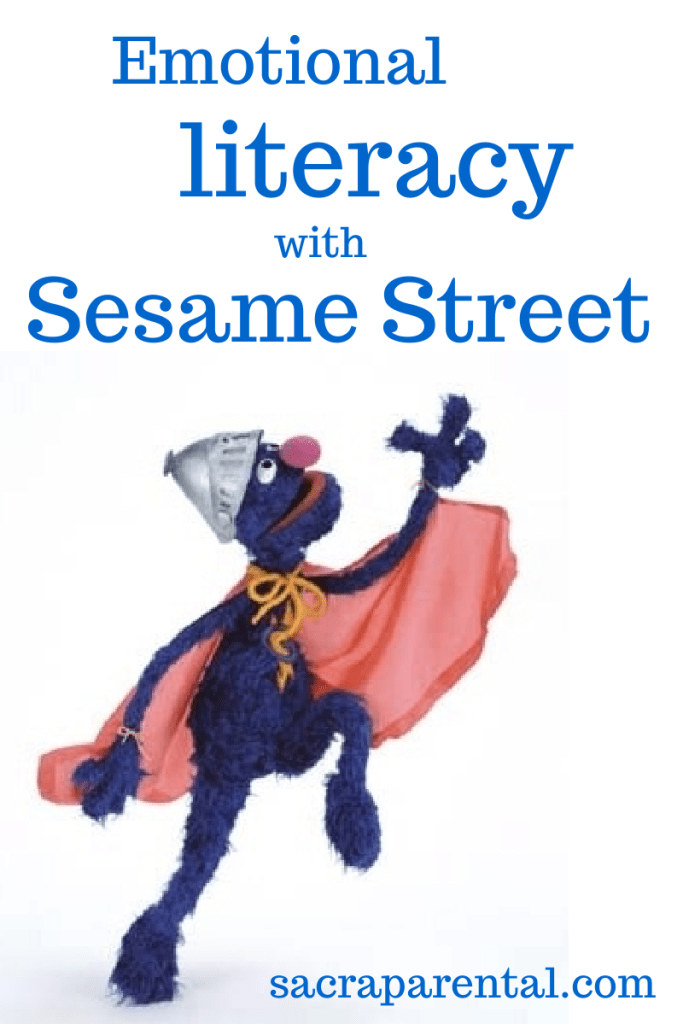 Emotional literacy with Grover and Dave Matthews on Sesame Street | Sacraparental.com