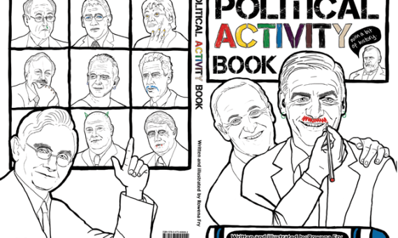 Political Activity Book Rowena Fry