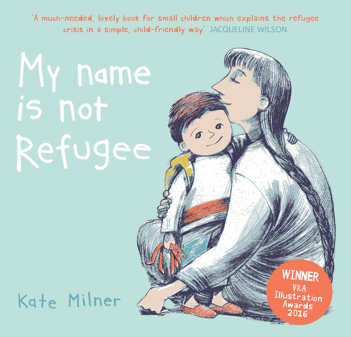My Name is not Refugee | Books for kids who want to change the world | Sacraparental.com