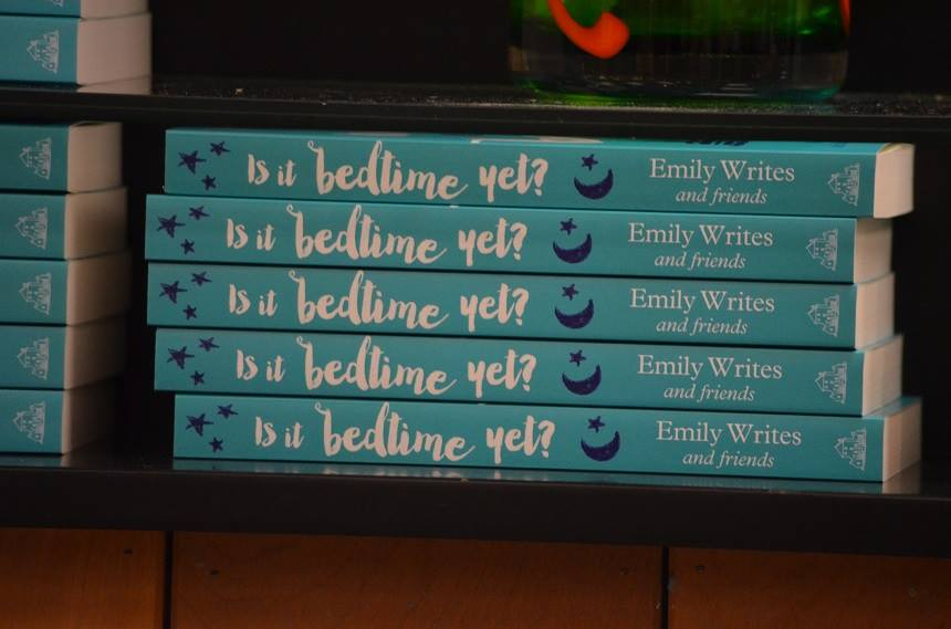 Is it bedtime yet? By Emily Writes and Friends, Penguin Random House