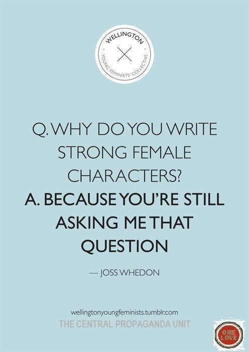 Joss Whedon: You're still asking me that question
