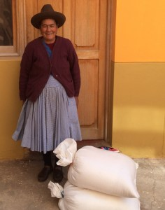 Senora Vilma with Maras Salt