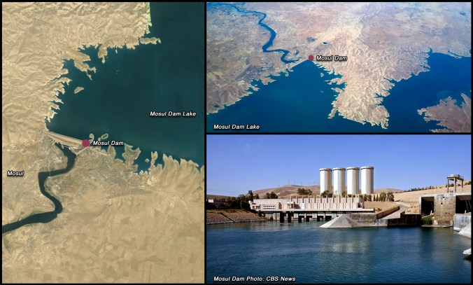 Mosul Dam, Water Soluble Gypsum, Collapse Imminent, Grouting, Flood